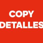 Copy Detalles