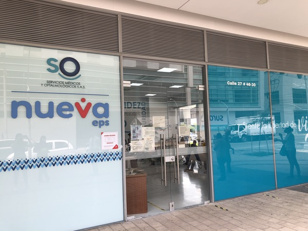 Servicios médicos y oftalmológicos Nueva EPS