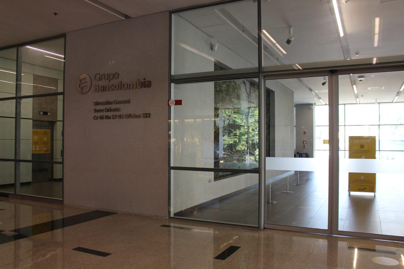 Bancolombia Torre Oriente Dirección General